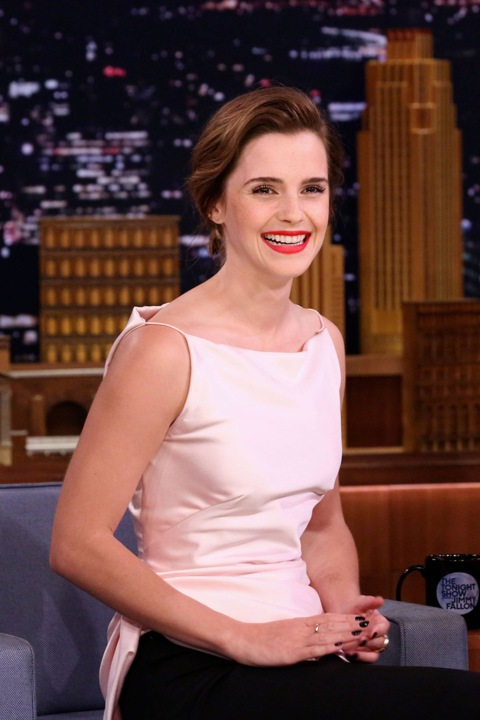 emma watson jimmy fallon kimmel mistake | british vogue