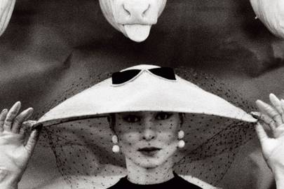 Guy Bourdin for French Vogue, February 1955
