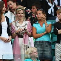 Wimbledon with friends in 2008
