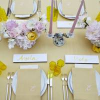 Get creative with your place settings