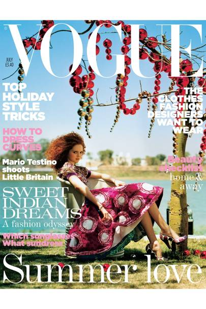 Vogue Cover, July 2005