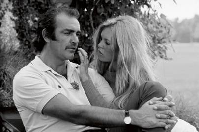 Sean Connery and Brigitte Bardot, 1967