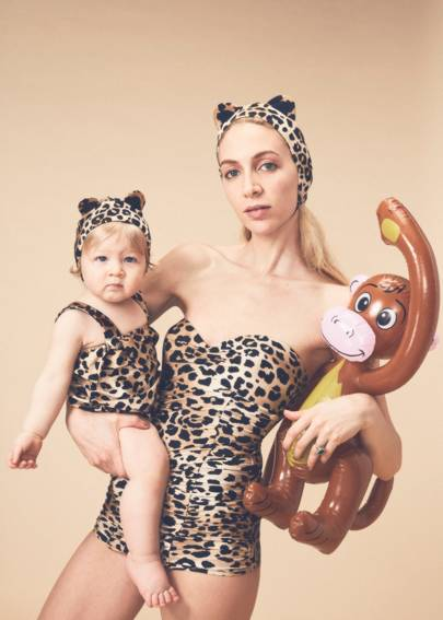 """ec21f68511 it was a matter of 'why not?',"""" Charlotte Dellal tells Vogue of her new  foray into swimwear in collaboration with Adriana Degreas."""