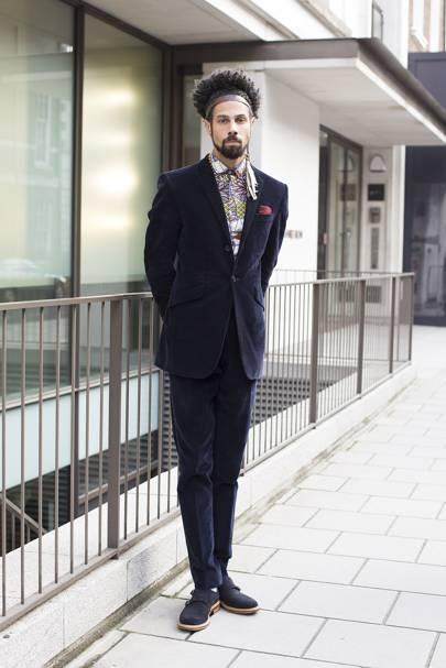 Aaron Dash, menswear designer