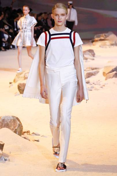 91936ec9eb431 Moncler Gamme Rouge Spring Summer 2017 Ready-To-Wear show report   British  Vogue