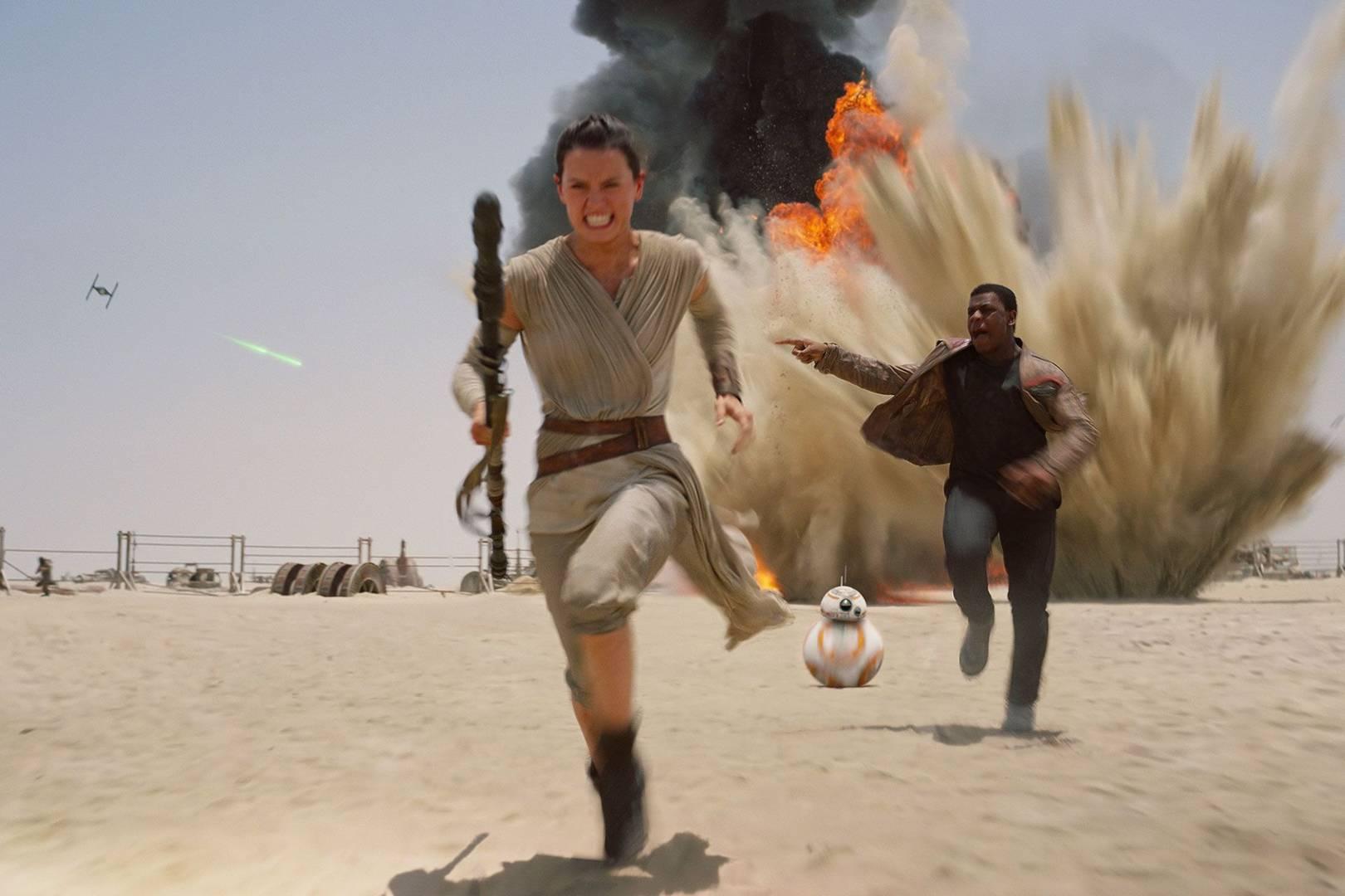 Daisy Ridley John Boyega The Force Awakens