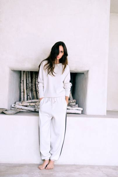 olivia von halle luxury pyjama label launches tracksuits british vogue. Black Bedroom Furniture Sets. Home Design Ideas