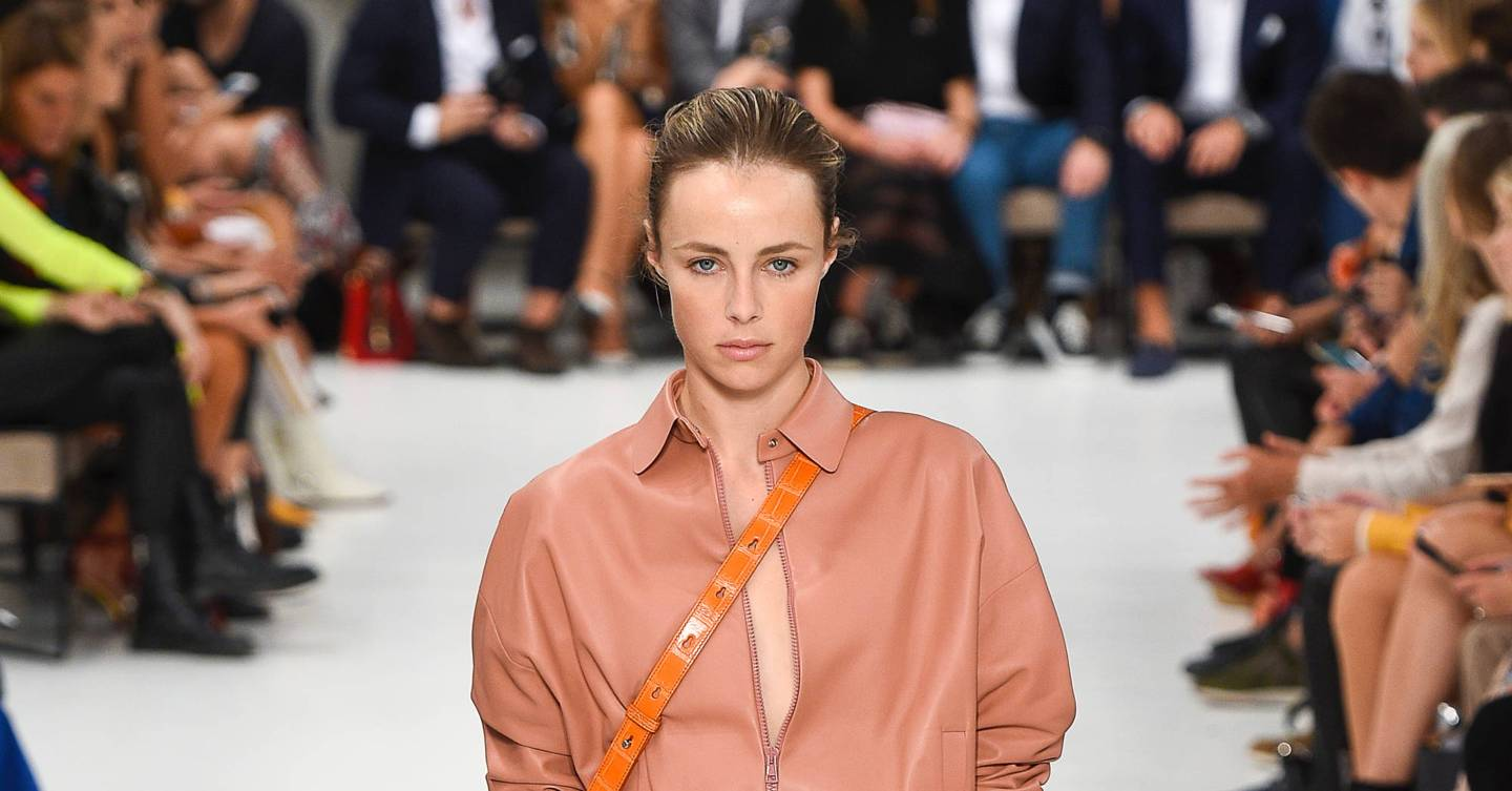 Allie Marie Evans Feet tod's spring/summer 2019 ready-to-wear show report | british