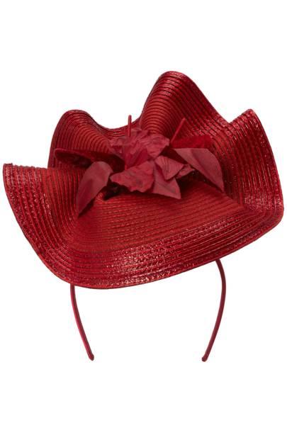 Contoured hat, £85