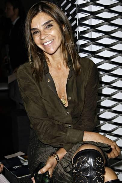 Carine Roitfeld, fashion editor