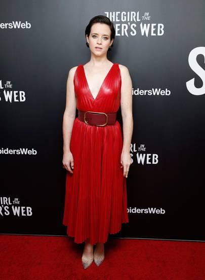 """The Girl In The Spider's Web"" Screening, New York - November 4 2018"