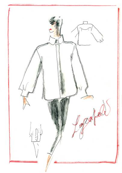 Karl Lagerfeld's Famous Friends Launch The White Shirt Project In Honour Of The Iconic Designer