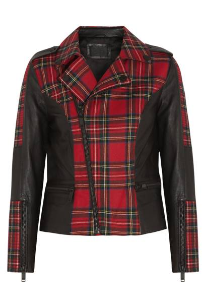 Vicious tartan wool jacket, £430