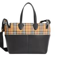Burberry Kingswood leather changing bag