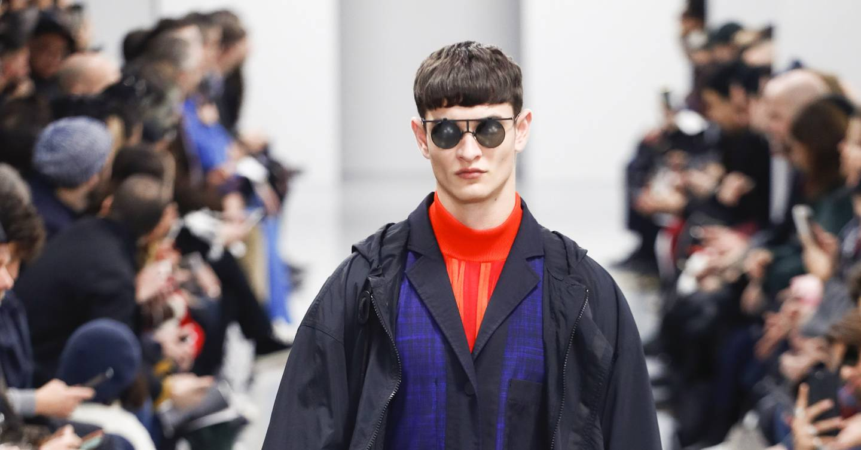 b4095f56cf Issey Miyake Men Autumn Winter 2018 Menswear show report