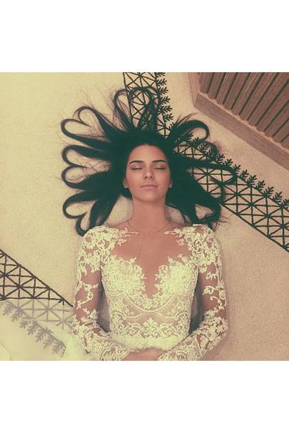 Kendall Jenner - 27.5 million followers