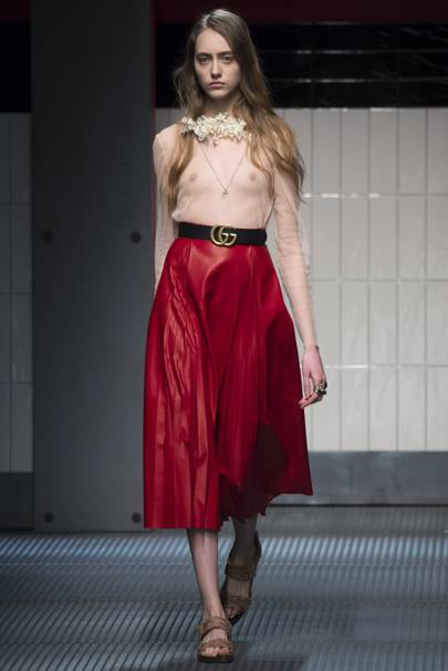 0a636f5508b Gucci Autumn Winter 2015 Ready-To-Wear show report