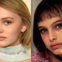 Lily-Rose Depp and Natalie Portman