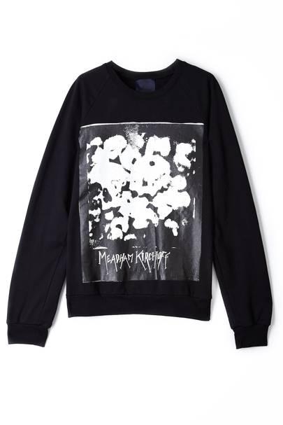 Printed jumper, £220, Meadham Kirchhoff