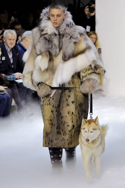 1284e783b Moncler Gamme Rouge Autumn Winter 2013 Ready-To-Wear show report ...