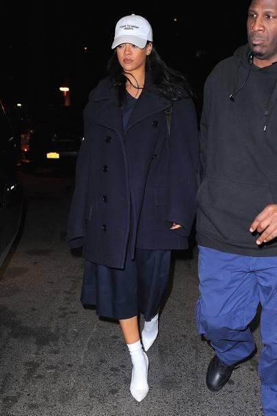 The supersized pea coat