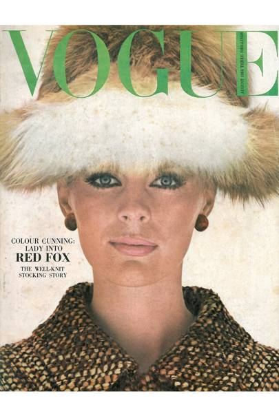 Vogue Cover, August 1964