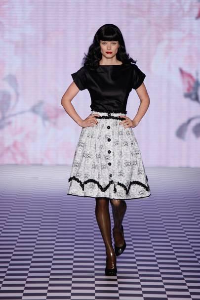7dead730d064 Lena Hoschek Spring Summer 2010 Ready-To-Wear show report   British ...