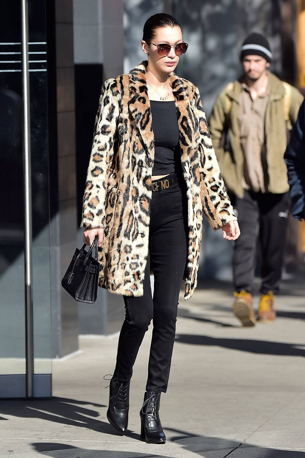 f59698fcb0e3 Celebrity Trend: The Leopard Print Coat | British Vogue