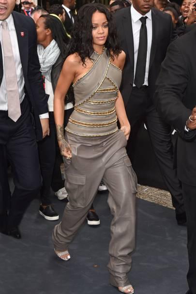 Rogue by Rihanna fragrance launch, Paris - June 4 2014