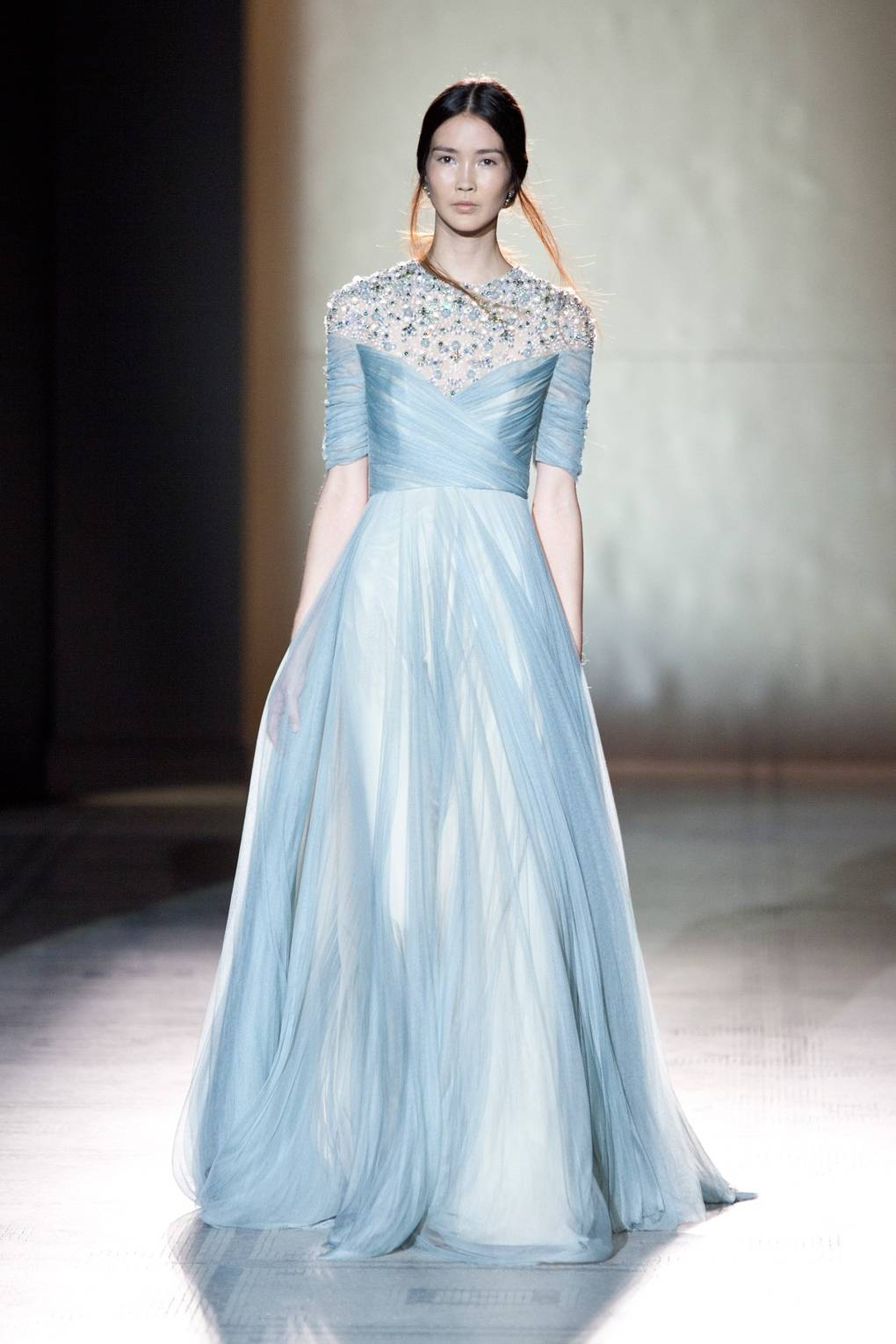 Jenny Packham V&A Museum Catwalk Show - Fashion In Motion 25th ...