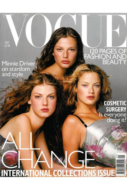 Vogue Cover, September 1998