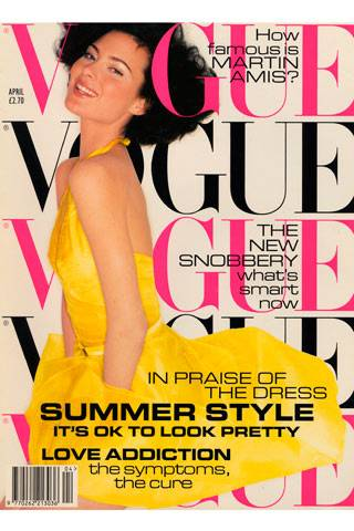 Vogue Cover April 1995