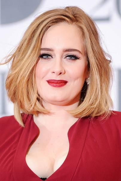 Adele's Bold Lip