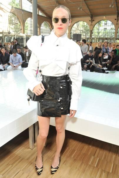 Kenzo menswear show, Paris - June 25 2016