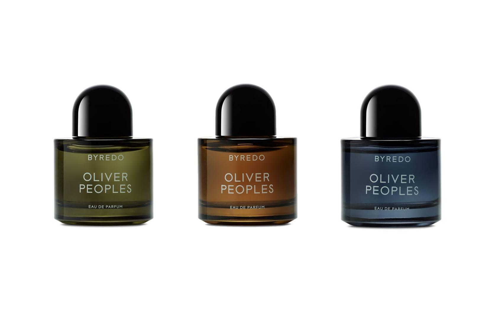 3943d0685857 Byredo X Oliver Peoples Fragrance   Sunglasses Collaboration ...