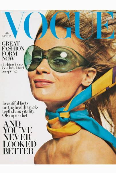 Vogue Cover, April 1968