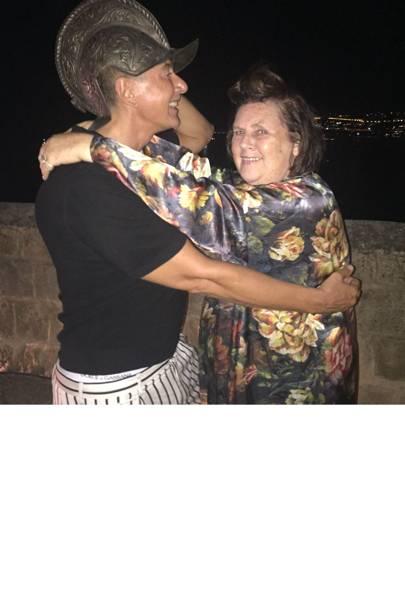 Suzy with Stefano Gabbana.