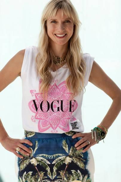 Calgary Avansino, Vogue contributing editor