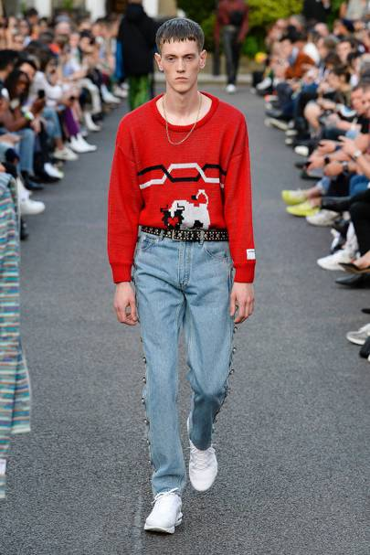 f1247a54789d Martine Rose Spring Summer 2019 Menswear show report