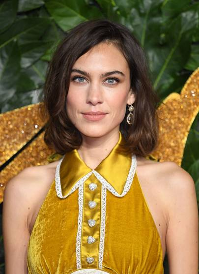Alexa Chung Hair And Hairstyles Inspiration Photos British Vogue