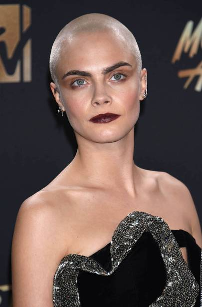 Cara Delevingne shaved her head (and wasn't the only one)