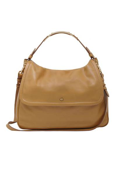 540eceeb6a Large Evelina Satchel in Fudge Glossy Buffalo - £895