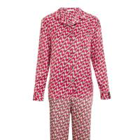 Markus Lupfer pyjama top, £125; Markus Lupfer pyjama trousers, £95