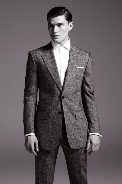 Shirt, £99; suit, £799