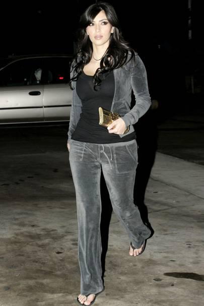 Kim Kardashian, November 2007