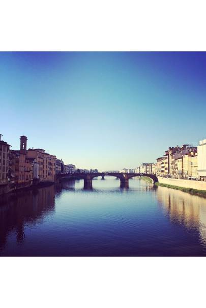 INSTAGRAM: The Arno River