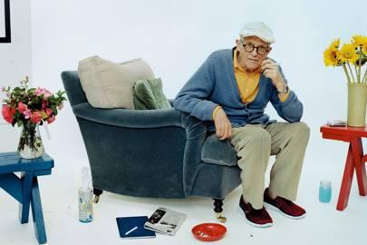Admire the work of David Hockney