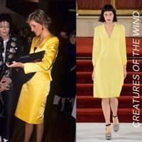 4. The yellow dress