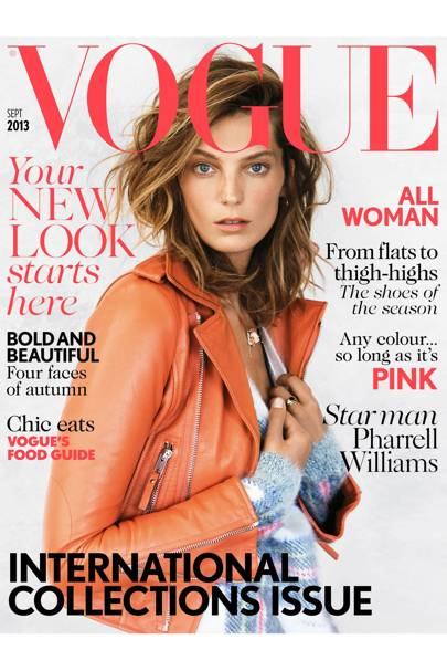 Vogue cover, September 2013
