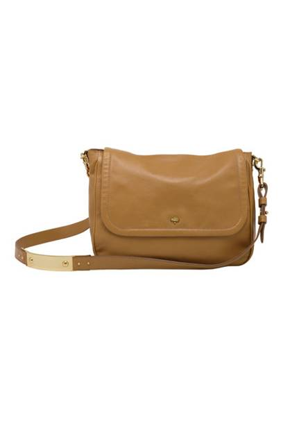 5e064d0a0b90 Evelina Satchel in Fudge Glossy Buffalo Fudge - £595